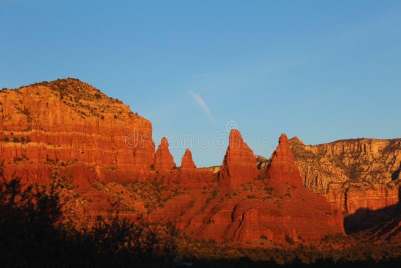 Sedona, Arizona sunset royalty free stock photo