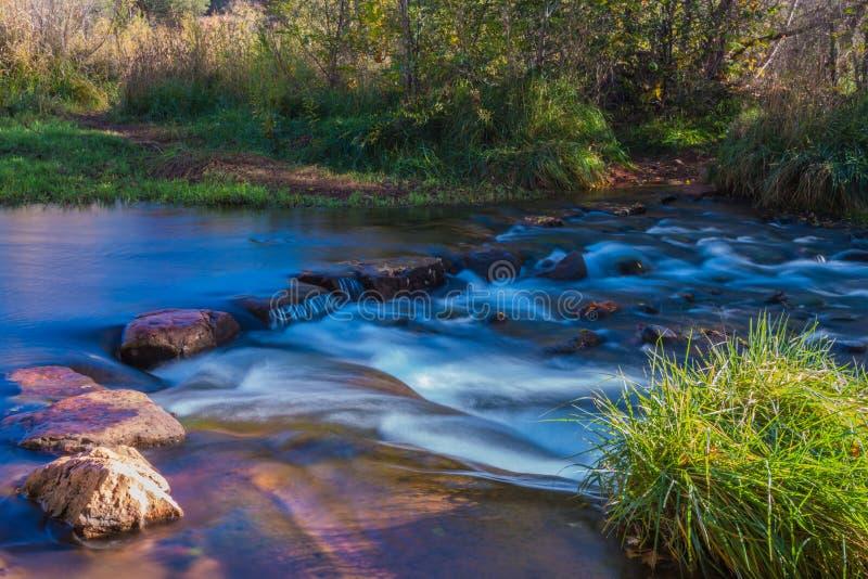 Sedona bonito o Arizona em Sunny Autumn Day fotografia de stock