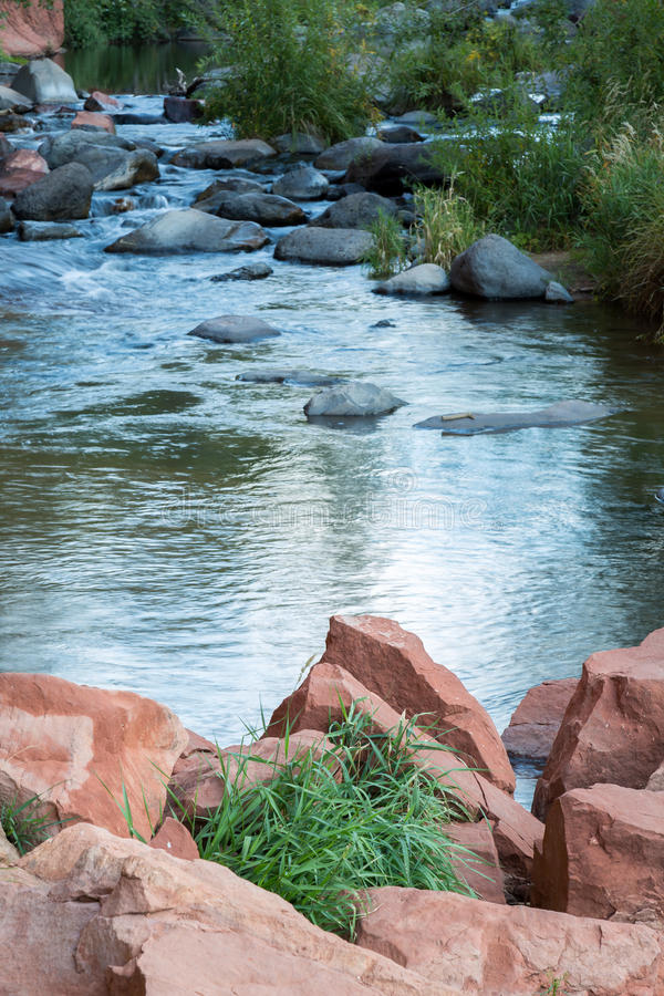 Sedona e paisagens da garganta da angra do carvalho imagem de stock royalty free