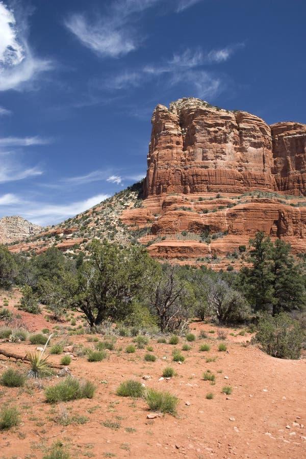 sedona för arizona ökenberg royaltyfria foton