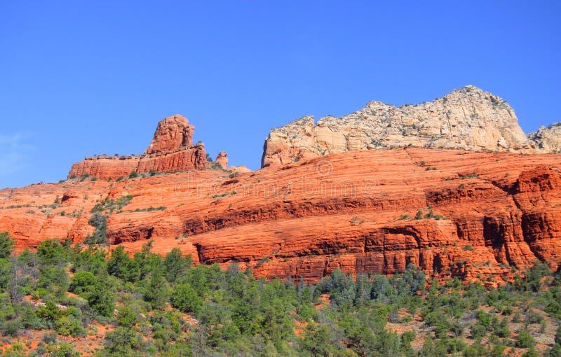 sedona för rock för arizona berg röd royaltyfria bilder