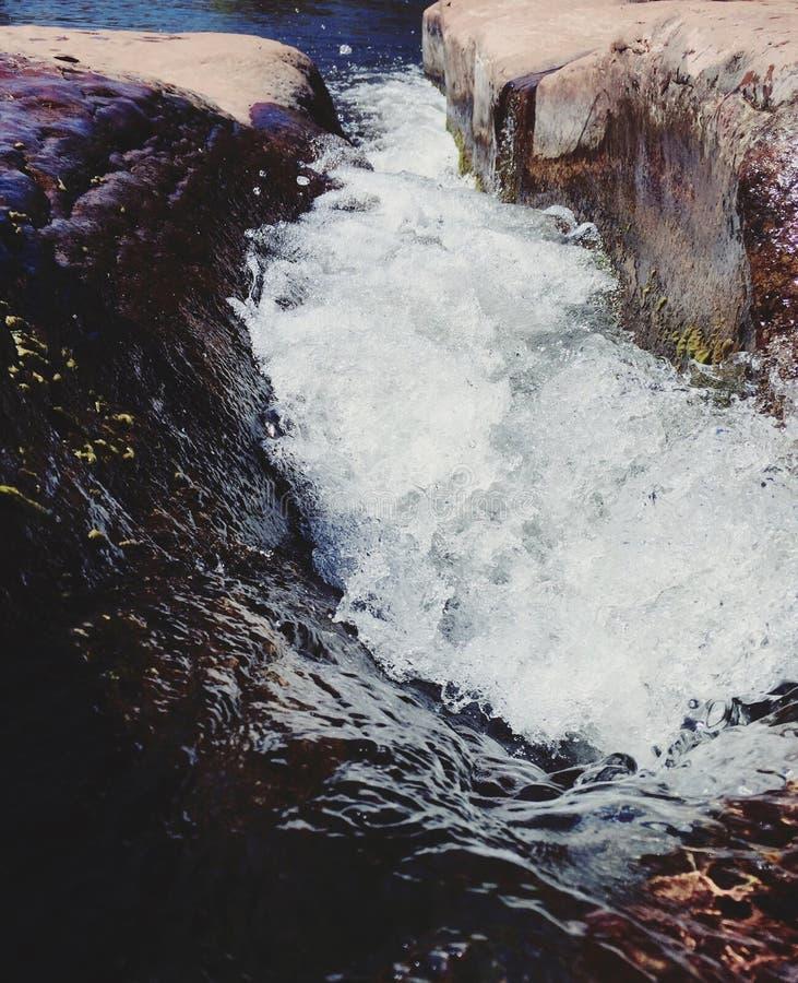Sedona flod arkivbild
