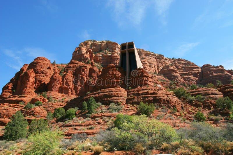 sedona kościoła zdjęcie stock