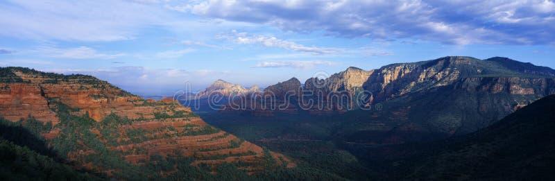 Sedona panoramiczny Widok obrazy royalty free