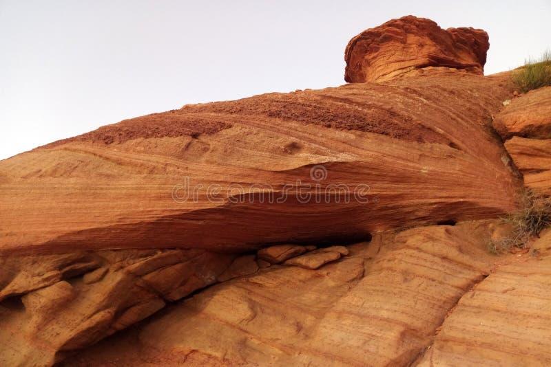 Sedona park graniczy okręg administracyjnego w północnym regionie U S Stan Arizona pożarniczych formacj Nevada parkowa czerwonego zdjęcie stock