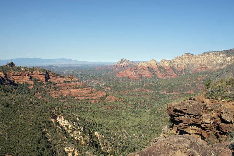 Sedona Red Rock Country Vista stock images