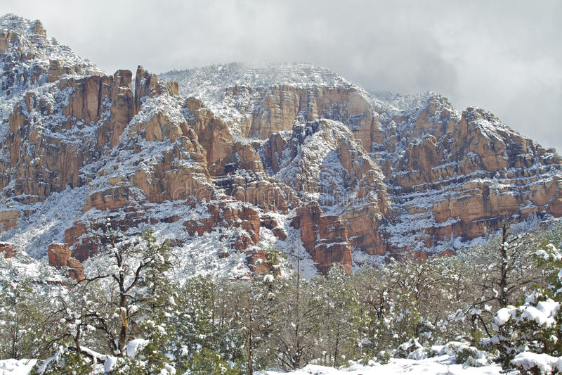 Download Sedona Winter Stock Image - Image: 29143051