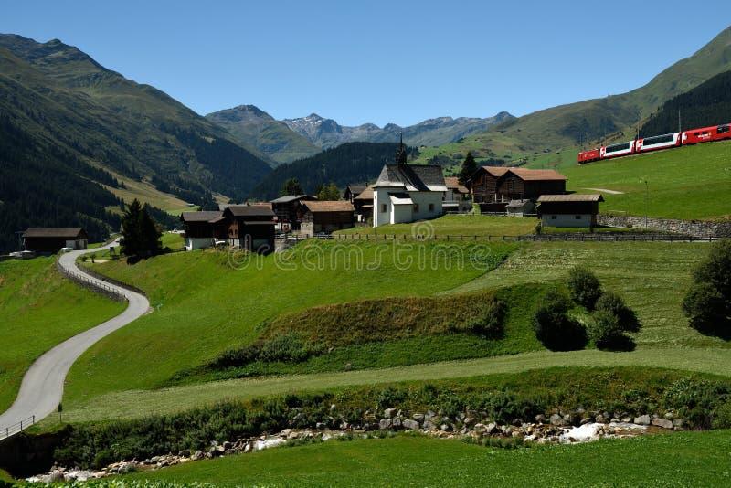 Sedrun, Surselva, Switzerland royalty free stock photo