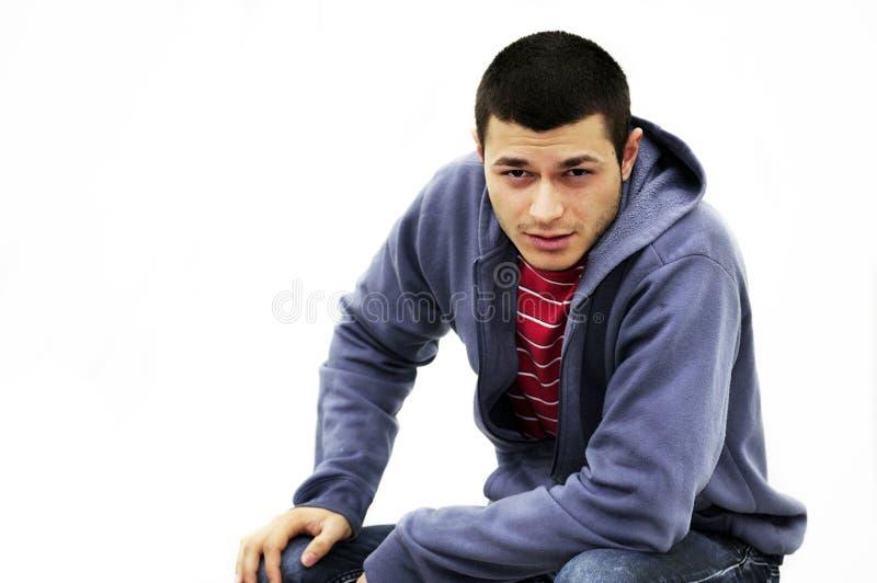 Download Seducer stock image. Image of male, look, modern, grunge - 17871199