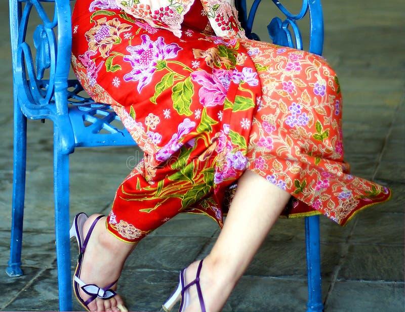 In Seductive Fashion stock photography
