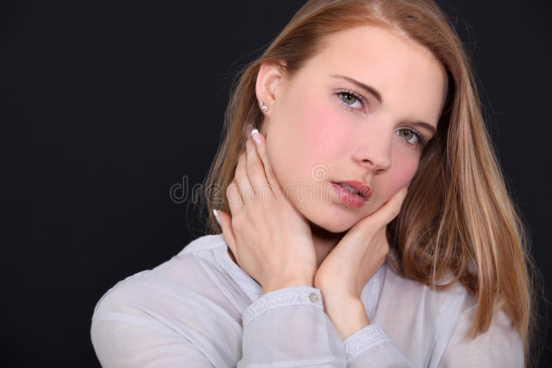 Download Seductive red head woman stock image. Image of sexuality - 29639965