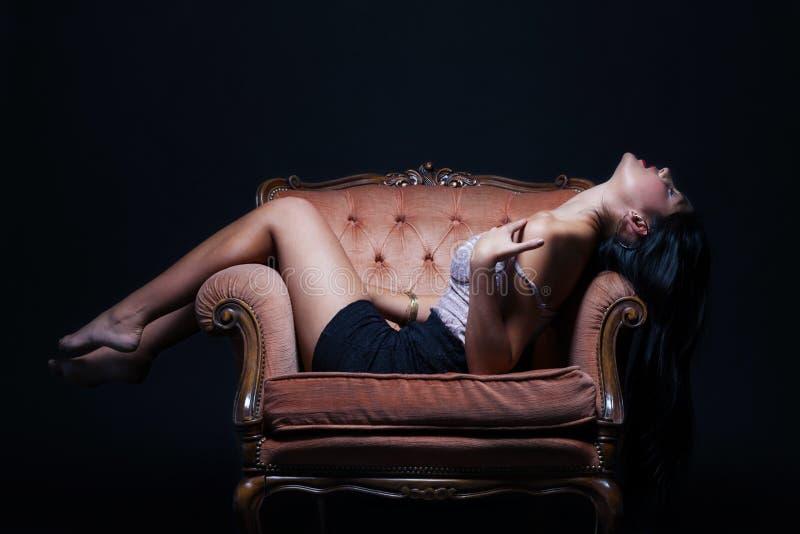 Throne Of Pleasure Royalty Free Stock Photo