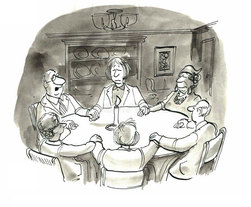 Seduta royalty illustrazione gratis
