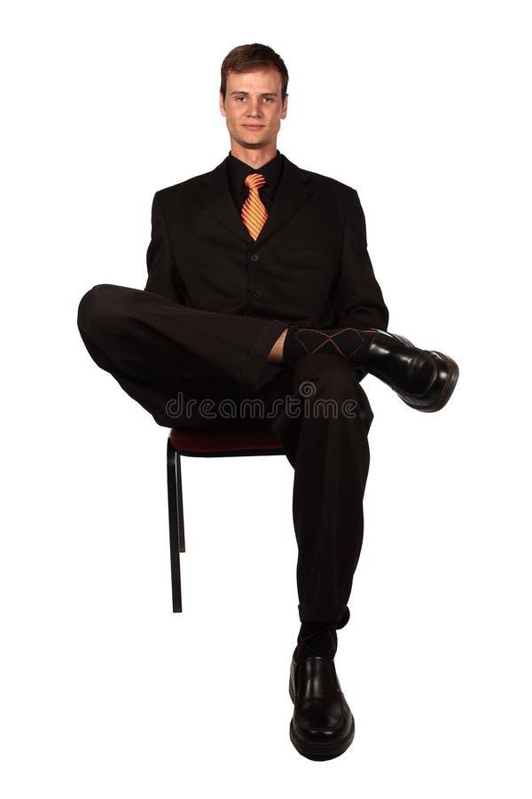Seduta immagine stock