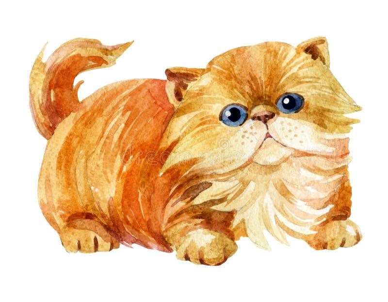 Seduta del gattino illustrazione vettoriale