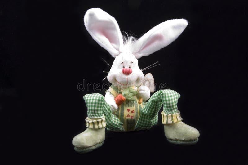 Seduta sveglia del coniglietto di pasqua immagine stock