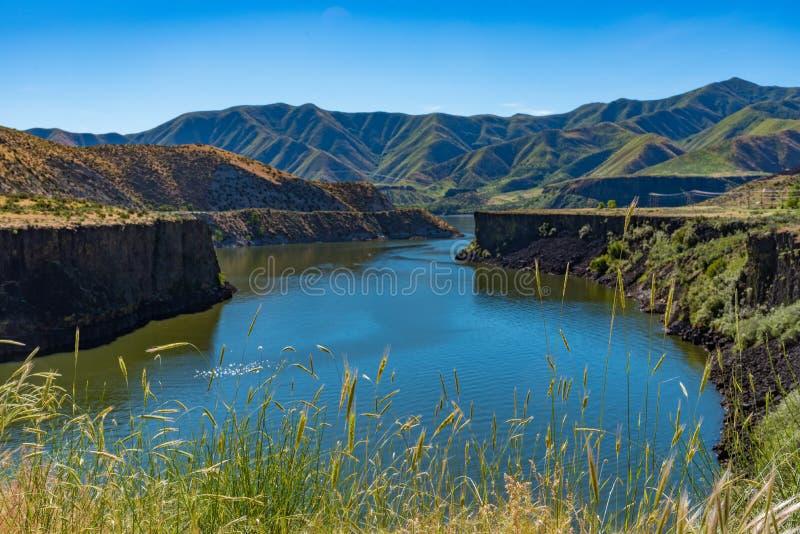 Sedvänjorliten vik, Idaho fotografering för bildbyråer