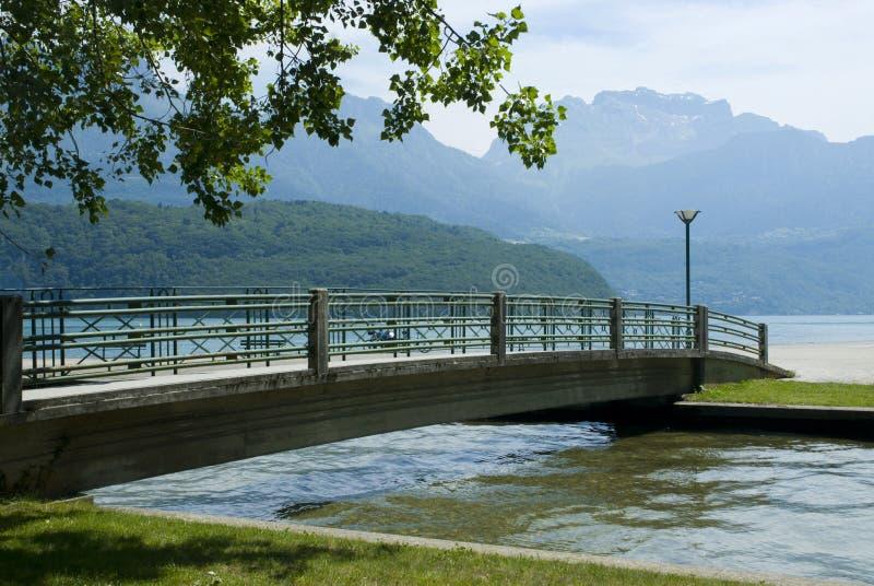 See Annecy, Frankreich stockfotos