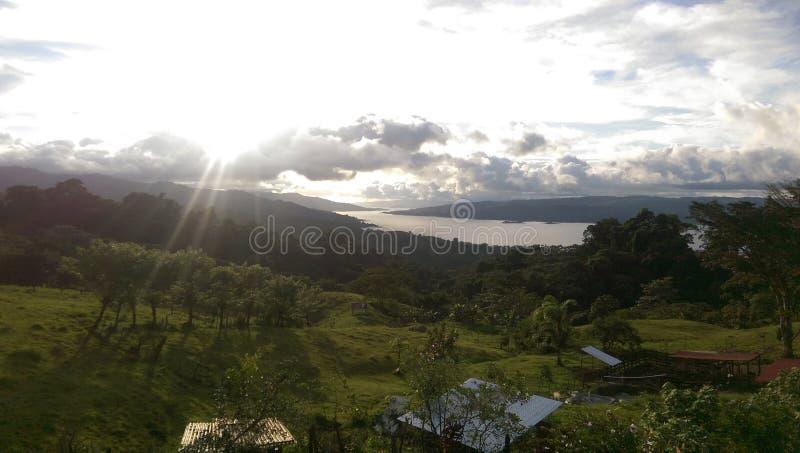 See Arenal, Costa Rica lizenzfreie stockfotos