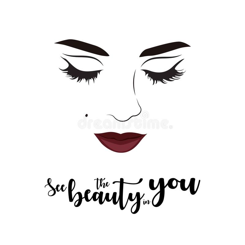 Beauty Quotes Stock Illustrations 1 749 Beauty Quotes Stock Illustrations Vectors Clipart Dreamstime