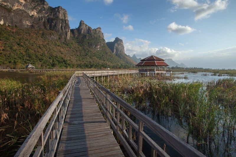 See bei Sam Roi Yod National Park stockbild
