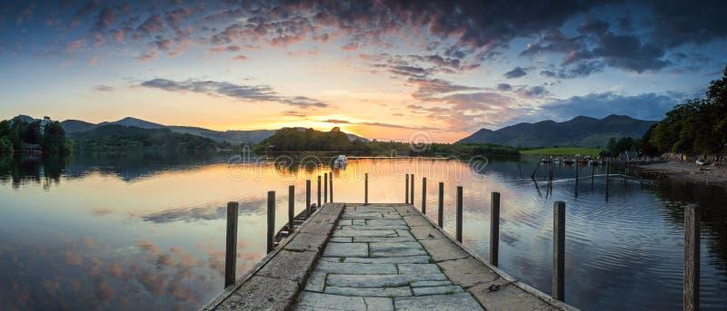 See-Bezirk, Cumbria, Großbritannien stockbilder