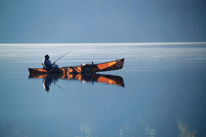 See-Boots-Fischen stockbilder