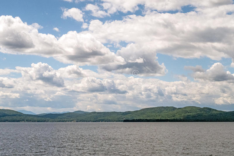 See Champlain, Vermont lizenzfreies stockbild