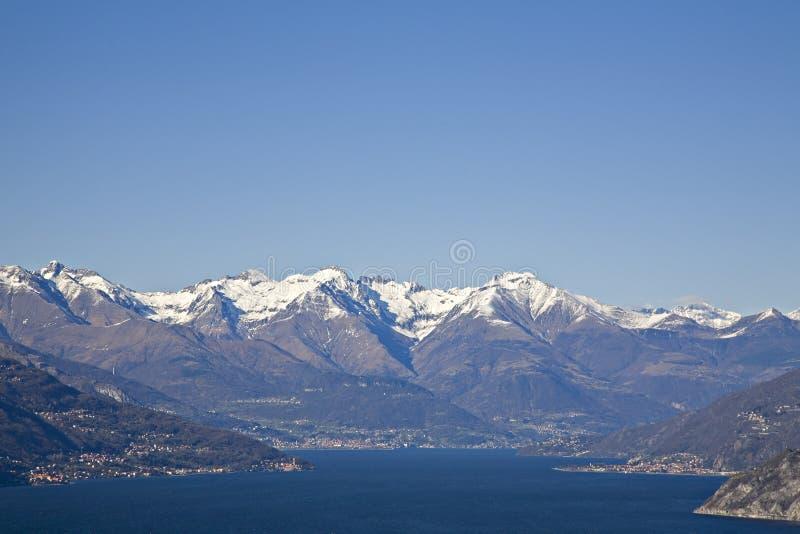 See Como in Bellagio lizenzfreies stockfoto