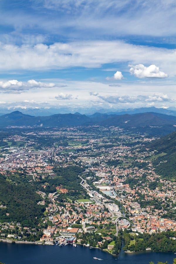 See Como, Italien stockfotografie