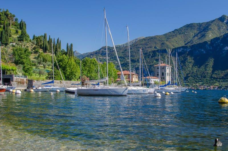 See Como Italien lizenzfreie stockfotos