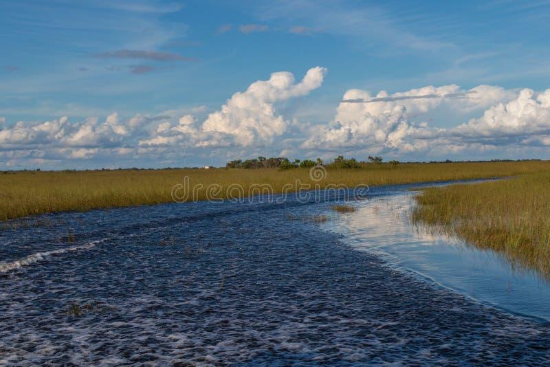 See in den Sumpfgebieten Safari Park stockfoto