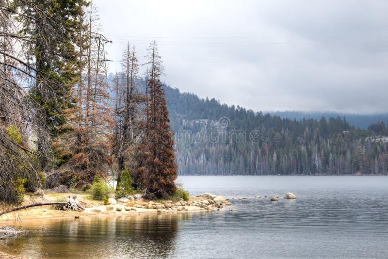 See in der Sierra Nevada lizenzfreie stockfotos