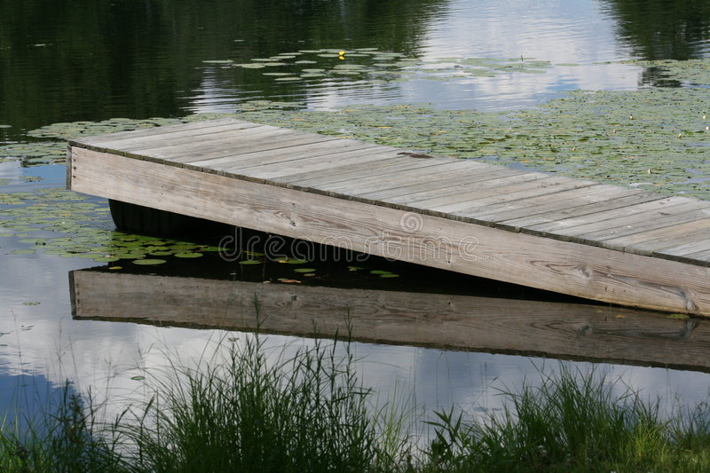 See-Dock stockbilder