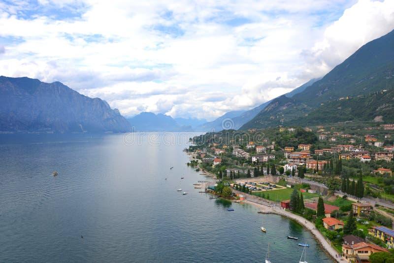 See Garda, Italien stockfoto