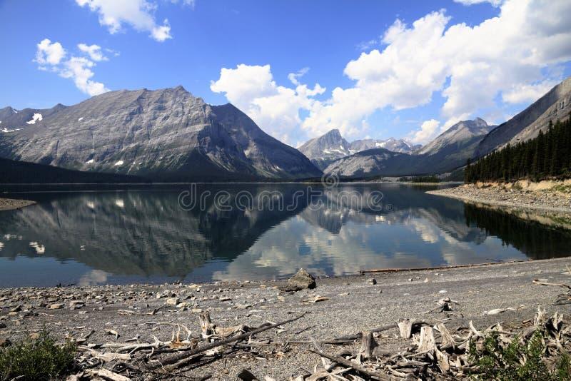 See in Kananaskis-Land - Alberta - Kanada stockfotografie