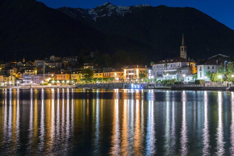 See Mergozzo (Italien) stockbild