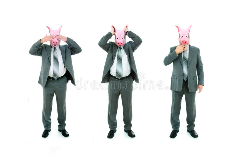 Download See No Evil, Hear No Evil, Speak No Evil Poses Stock Image - Image: 23470975