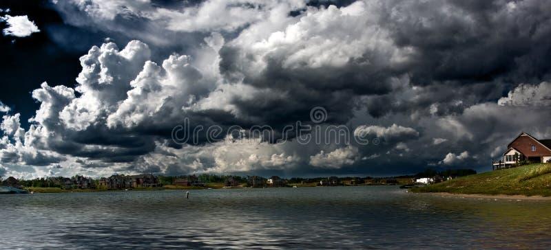 See panoramisch lizenzfreie stockfotografie