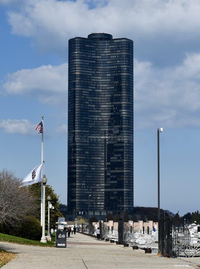 See-Punkt-Turm stockbilder