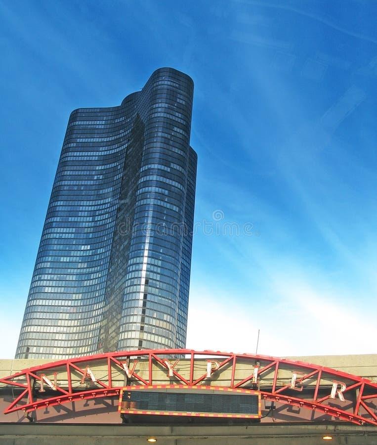 See-Punkt-Turm-Kondominium lizenzfreies stockbild