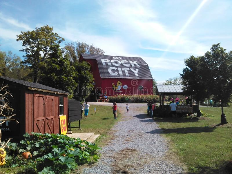 See Rock City Barn stock photography