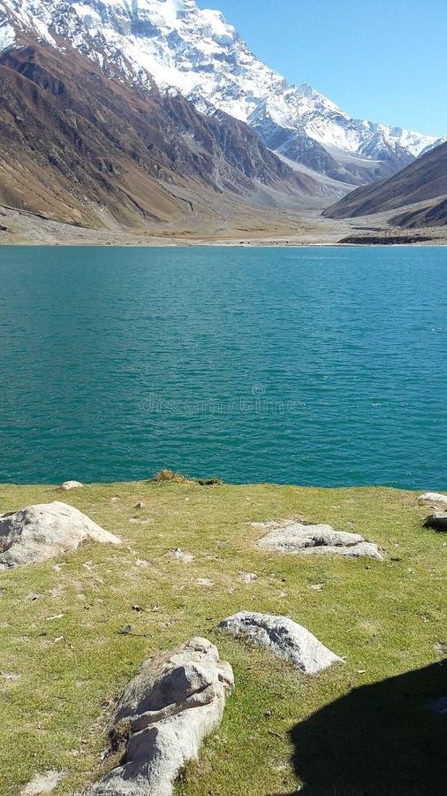 See saif UL-malook kaghan Pakistan lizenzfreie stockbilder