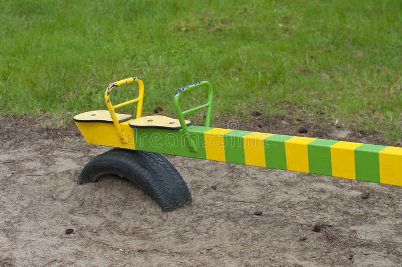 Download See saw stock image. Image of outdoor, seesaw, exercise - 25477479
