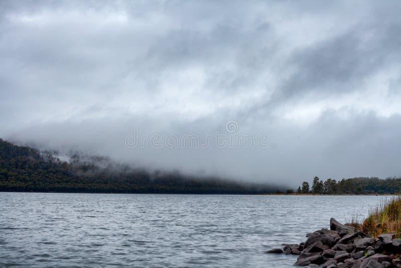 See-St Clair Tasmania lizenzfreies stockfoto