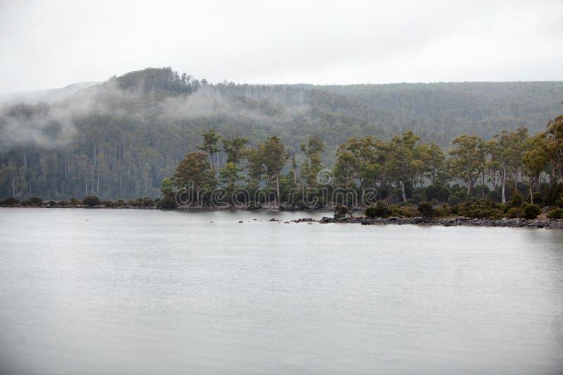 See-St Clair Tasmania lizenzfreie stockfotos