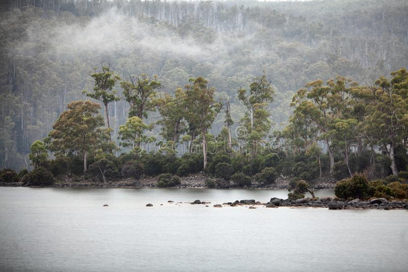 See-St Clair Tasmania lizenzfreie stockbilder