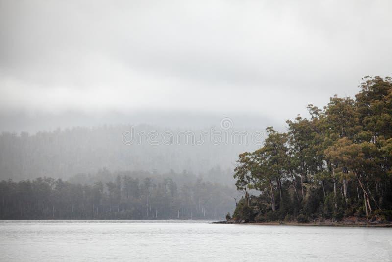 See-St Clair Tasmania lizenzfreies stockbild