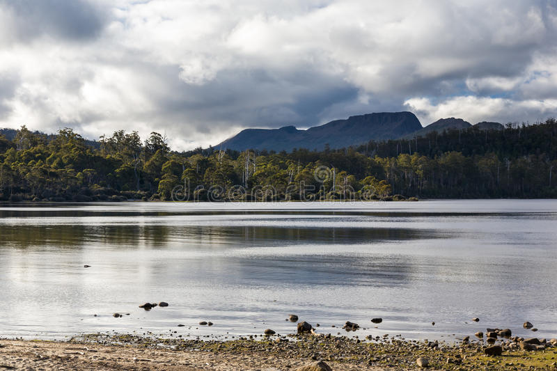 See-St. Clair Tasmania stockfotografie