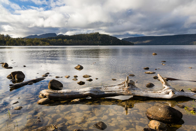 See-St. Clair Tasmania lizenzfreie stockfotografie
